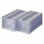サンワサプライ DVD・CDケース(クリア) FCD-U100CN / サンワサプライ