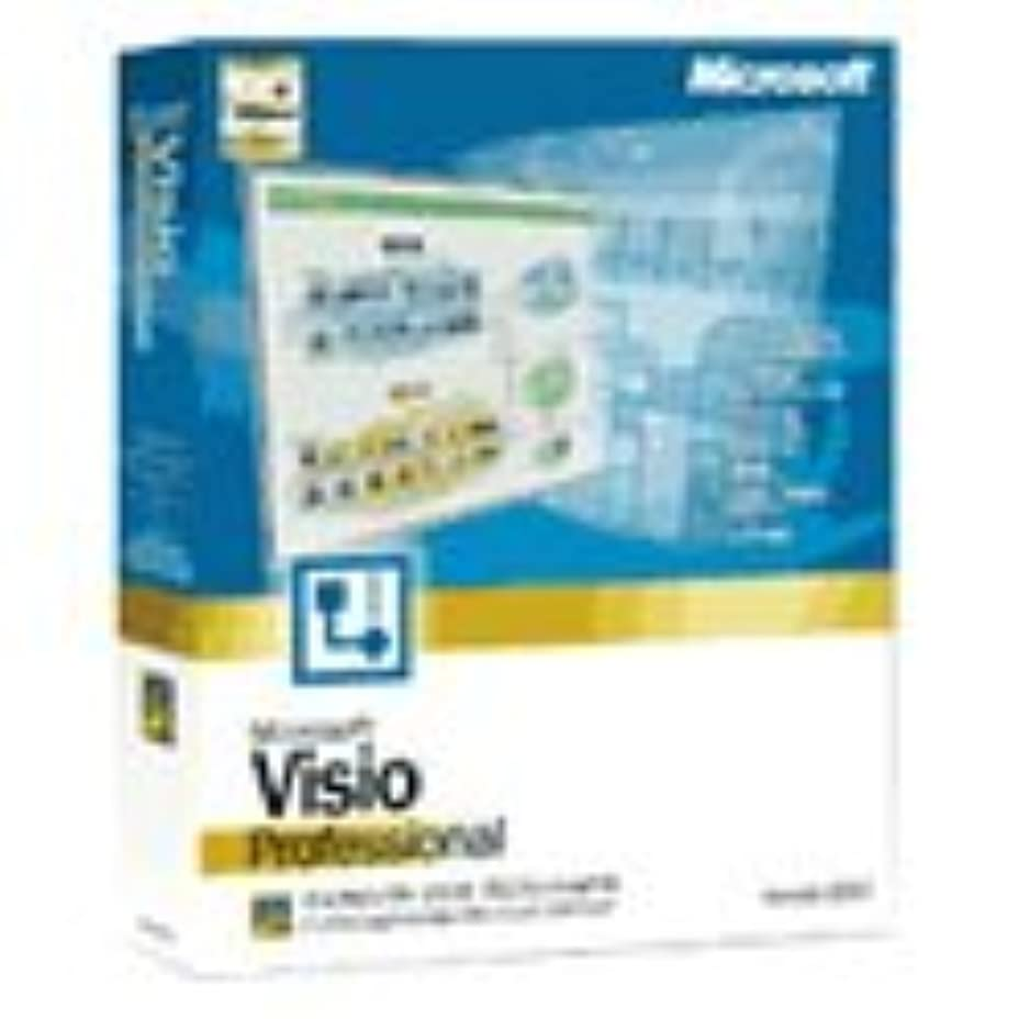 【旧商品/サポート終了】Microsoft Visio Professional Version 2002