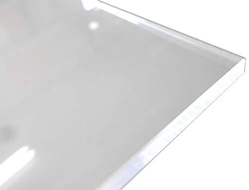 アクリル板 (押出し) 透明 - 板厚 (4mm) 910mm × 600mm