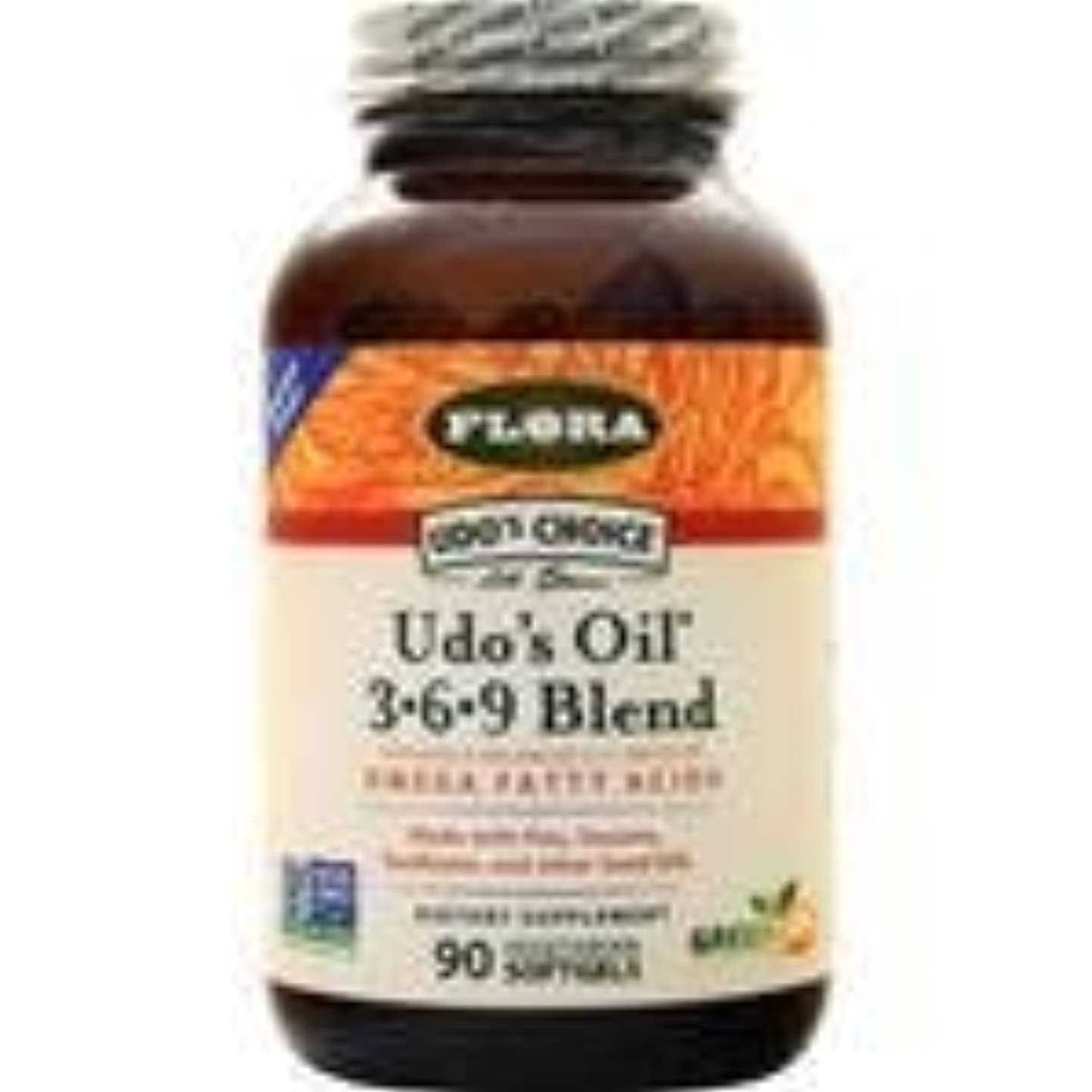 罪人ゆでる見せますUdo's Choice Udo's Oil 3-6-9 Blend 90 sgels 2個パック