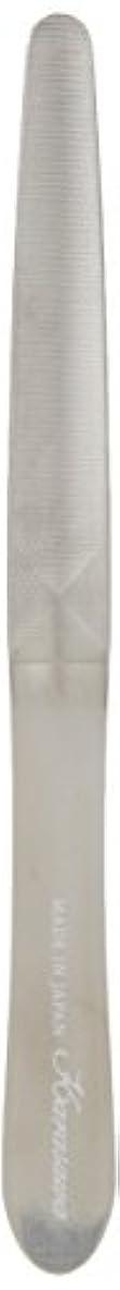 バラバラにする一般的に暫定の柄沢ヤスリ 爪ヤスリ スタンダード ケース付き 赤銀