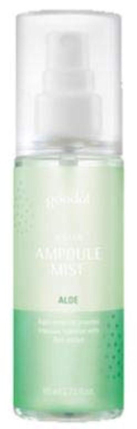 疑問に思う薬剤師収束する[Goodal] Ampoule Mist 80ml /アンプルミスト80ml (Aloe/アロエ(ウォータータイプ)) [並行輸入品]