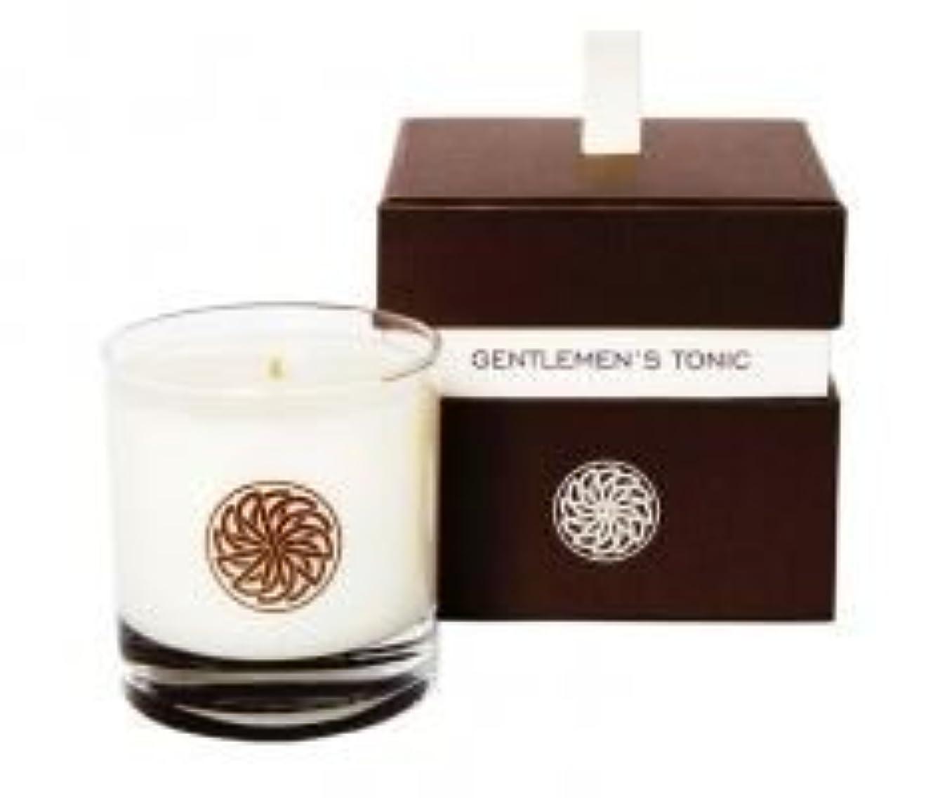 平行実現可能不器用Gentlemen's Tonic ジェントルメンズトニック Gift Candle Box (ギフトキャンドルボックス) 300g