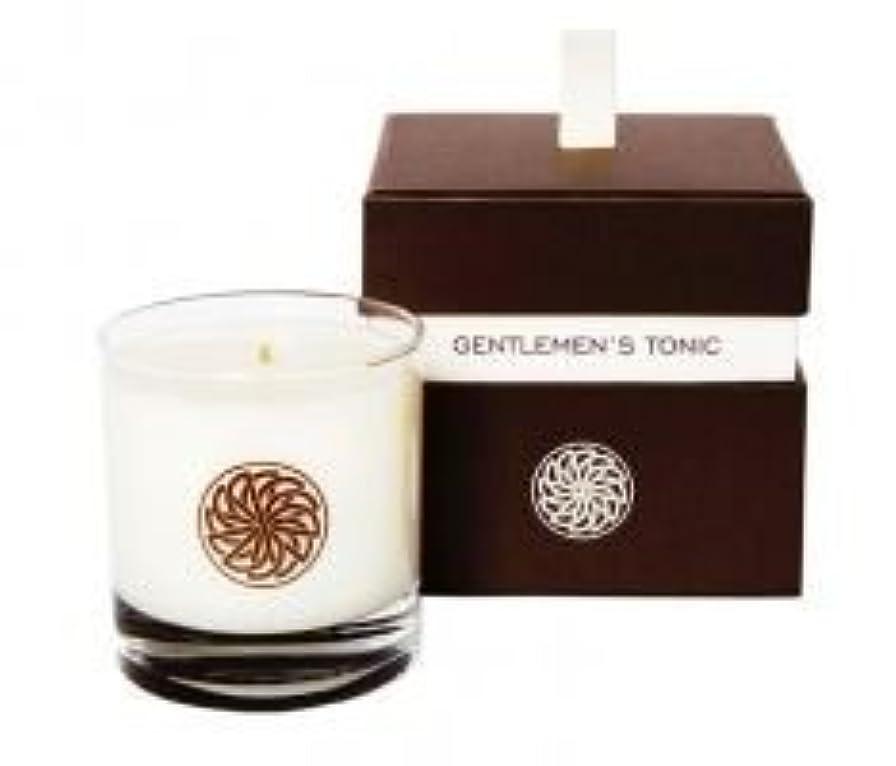 精査抽出ストラトフォードオンエイボンGentlemen's Tonic ジェントルメンズトニック Gift Candle Box (ギフトキャンドルボックス) 300g