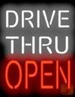 ドライブ–Thru Open Neon Sign