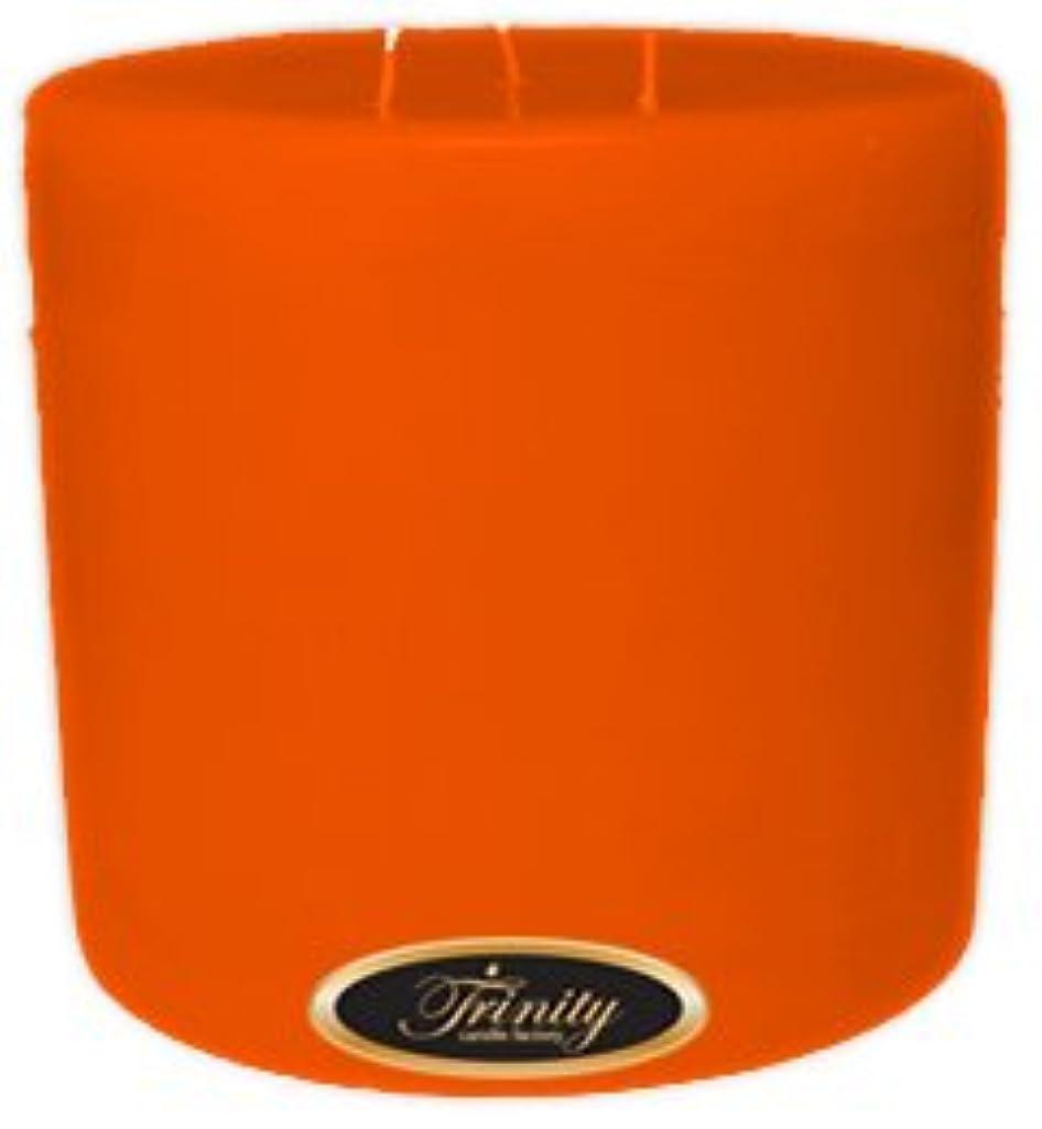 ミシン目徹底的にマッサージTrinity Candle工場 – フロリダオレンジ – Pillar Candle – 6 x 6