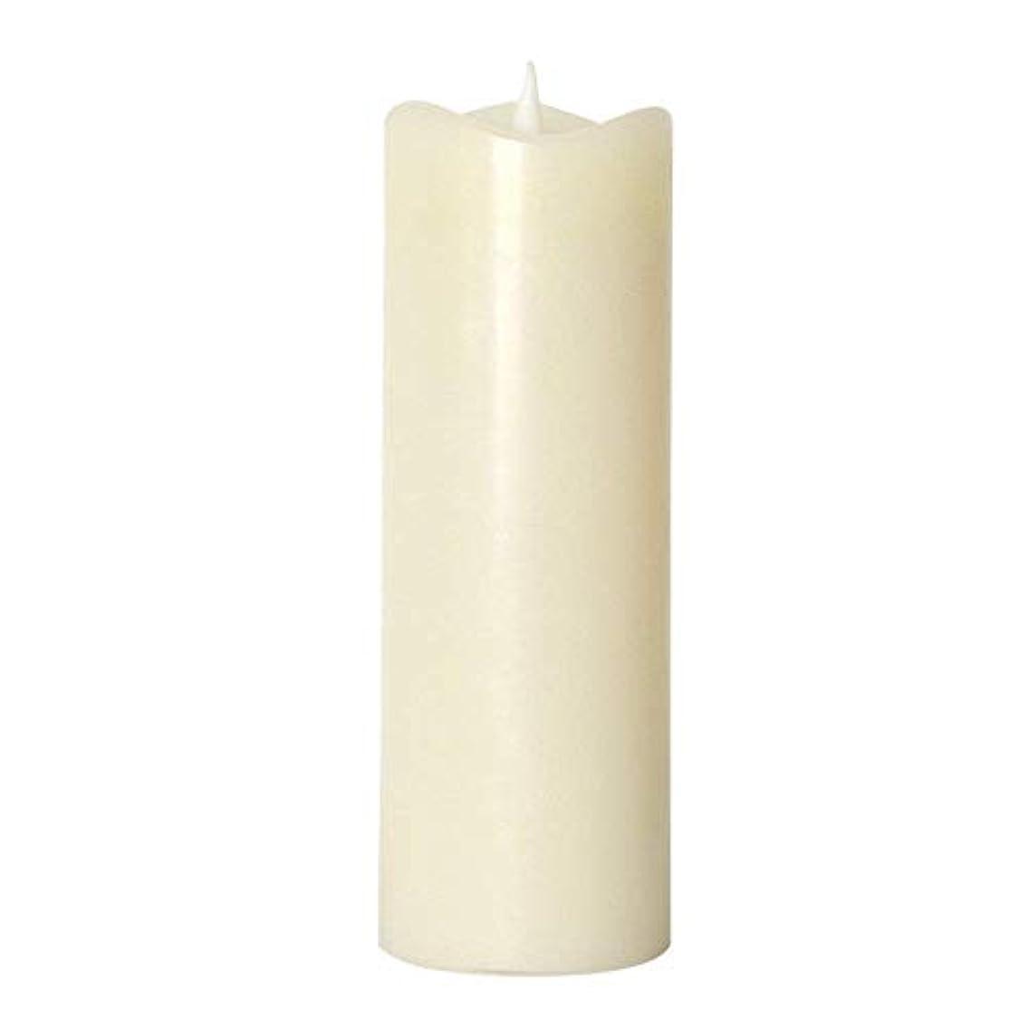 規則性忠誠勇気LEDスマートキャンドル SMART Flame(スマートフレイム) ピラーキャンドル LL(リモコ