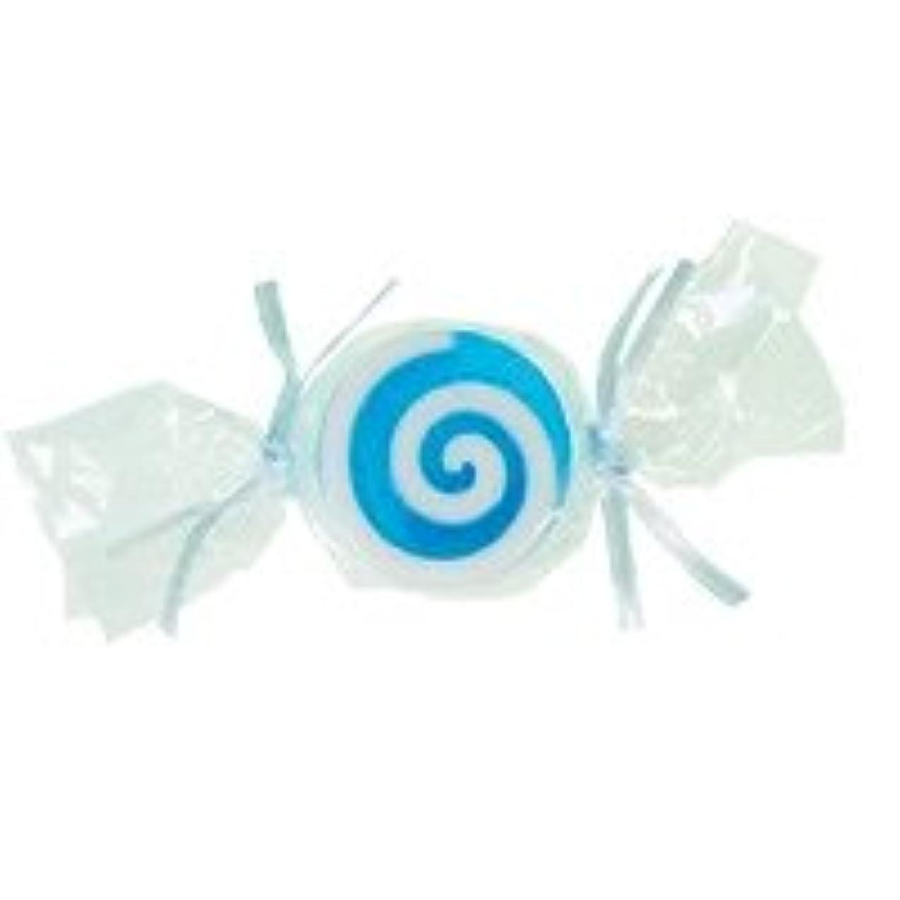 掃く予測子ドレスベジタブルソープ キャンディ「ブルー」20個セット ハニーメロンの香り