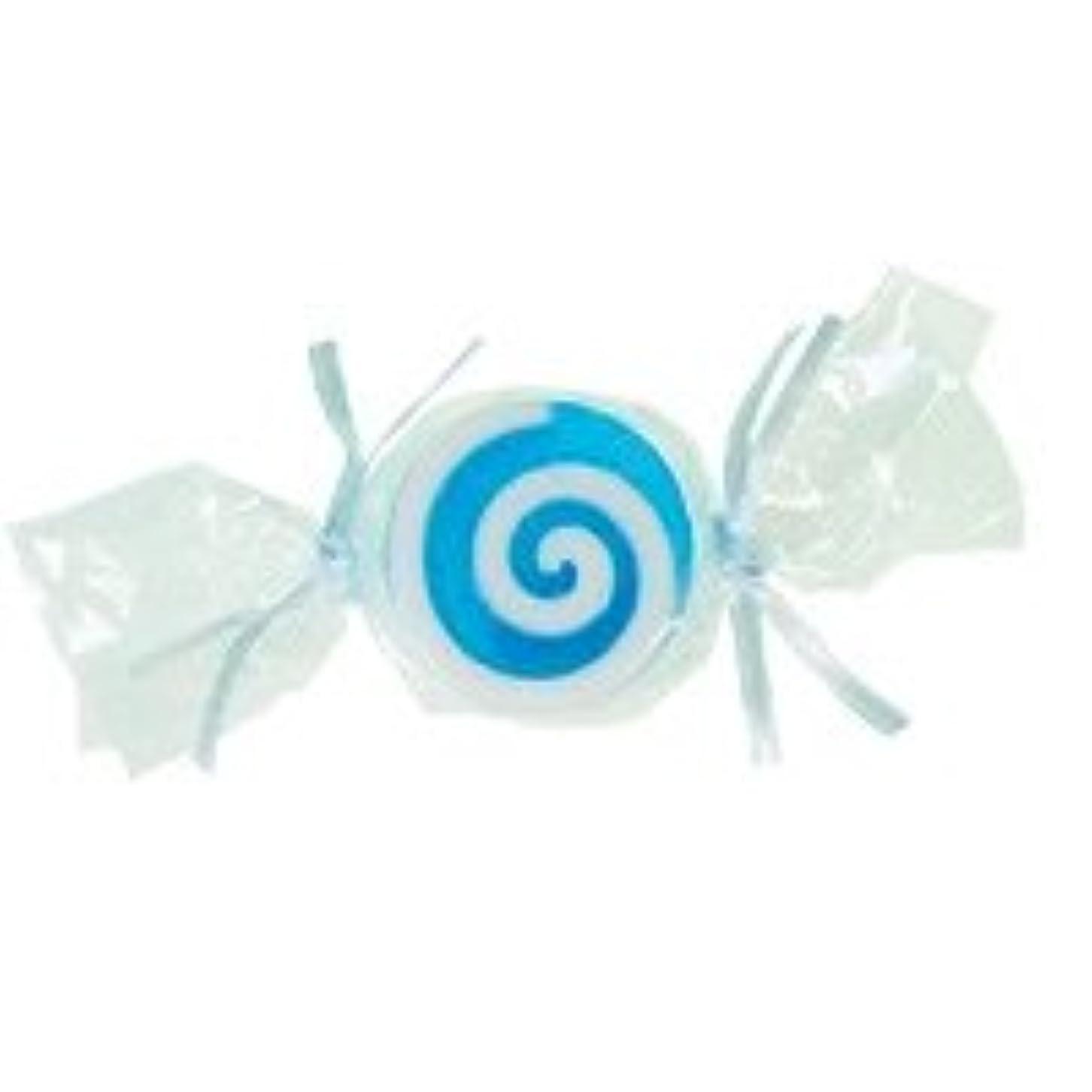 懐疑論ラベ獲物ベジタブルソープ キャンディ「ブルー」20個セット ハニーメロンの香り