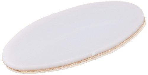 ほぼ全てのマウス対応マウスソール 楕円形0.65mm厚 12個入り AS-36
