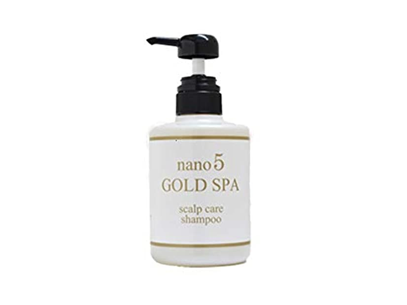 バットみがきます尊厳nano5GOLD SPA(ナノファイブゴールドスパ) nano5 GOLD SPAシャンプー 無香料 400