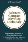 Download Webster's Compact Rhyming Dictionary 0877791856