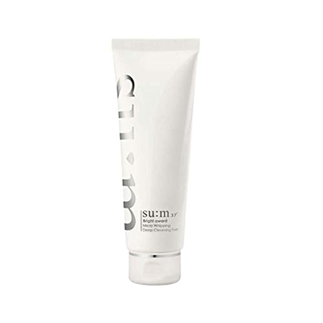 消費者抵当平均[su:m37/スム37°] SUM37 Bright Award Micro Whipping Deep Cleansing Foam(並行輸入品)