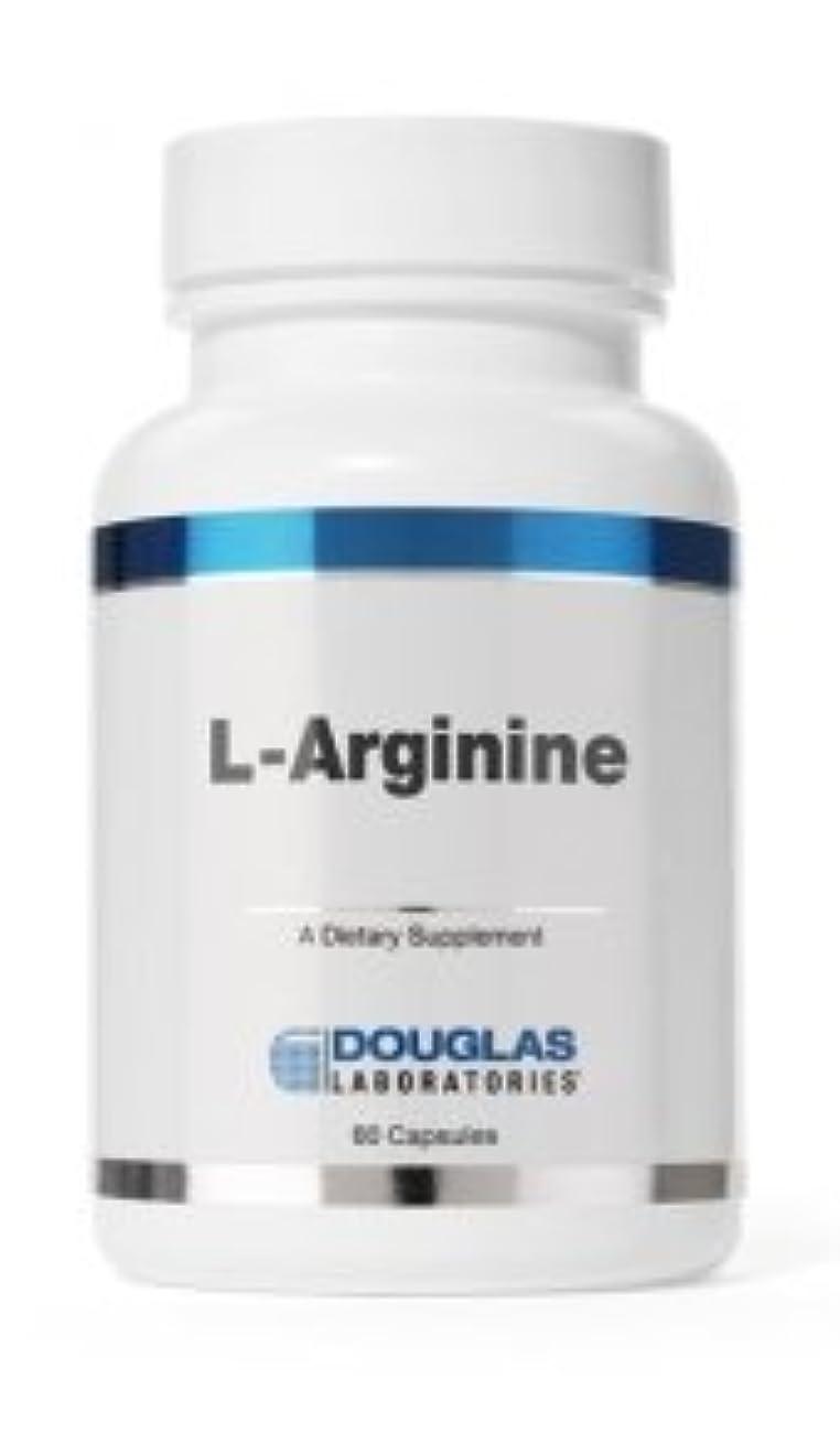 自己尊重ふさわしい陰気ダグラスラボラトリーズ L-アルギニン 60粒/約60日分