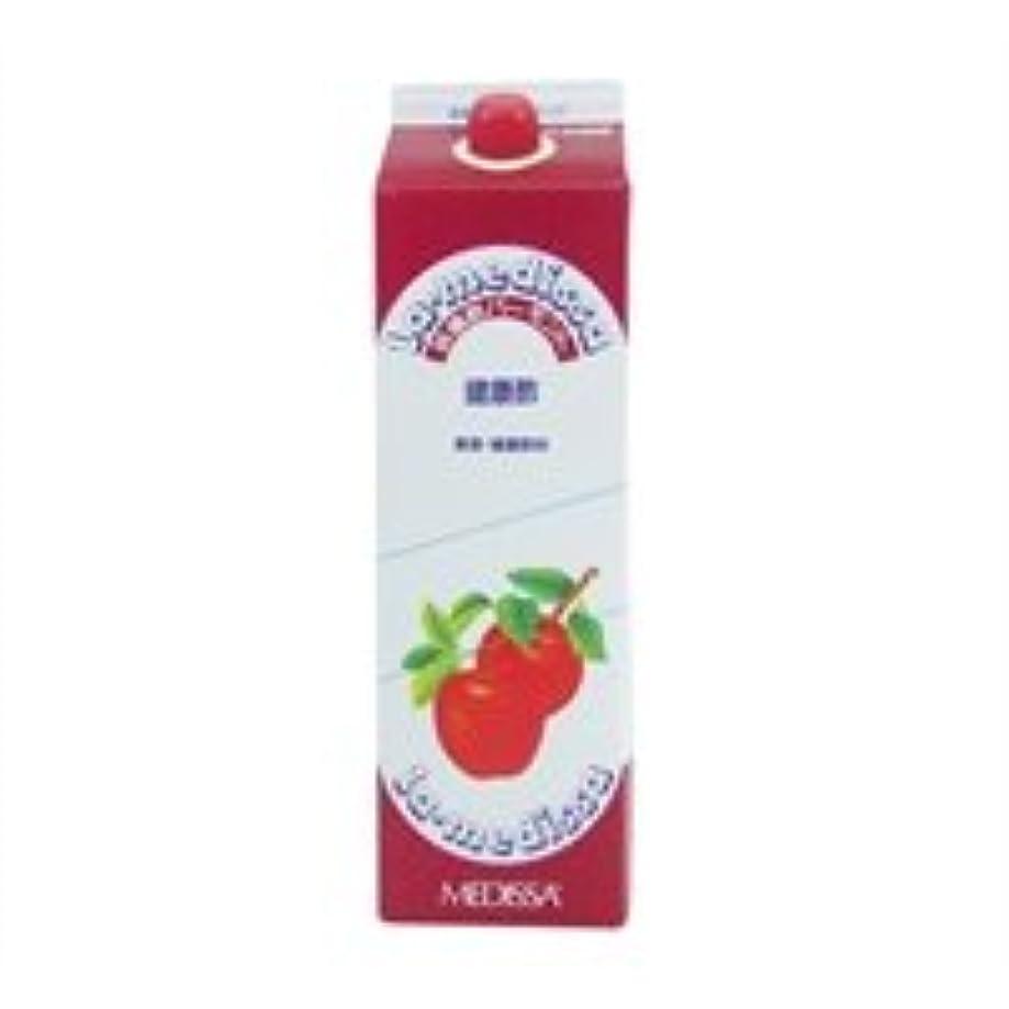 重なる薬を飲むゆでるラ?メデッサ リンゴ酢バーモント 1.8L