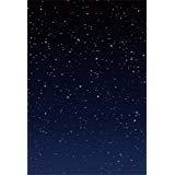 aofoto 3x 5ft Starry Sky Background Fantastic Galaxy写真バックドロップNebular Stars Night Kid赤ちゃん男の子女の子ベビーArtistic Portrait Abstract Photoshoot Studio Propsビデオドレープ壁紙ドロップ