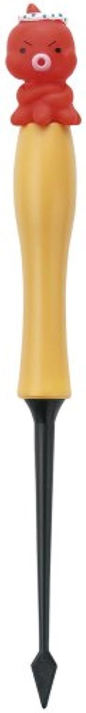 貝印 まいど本舗 タコやん まとめやすいダイヤ型たこピック (タコやん付き) DS-1018