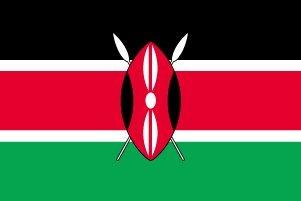 世界の国旗 ケニア国旗 90×150cm