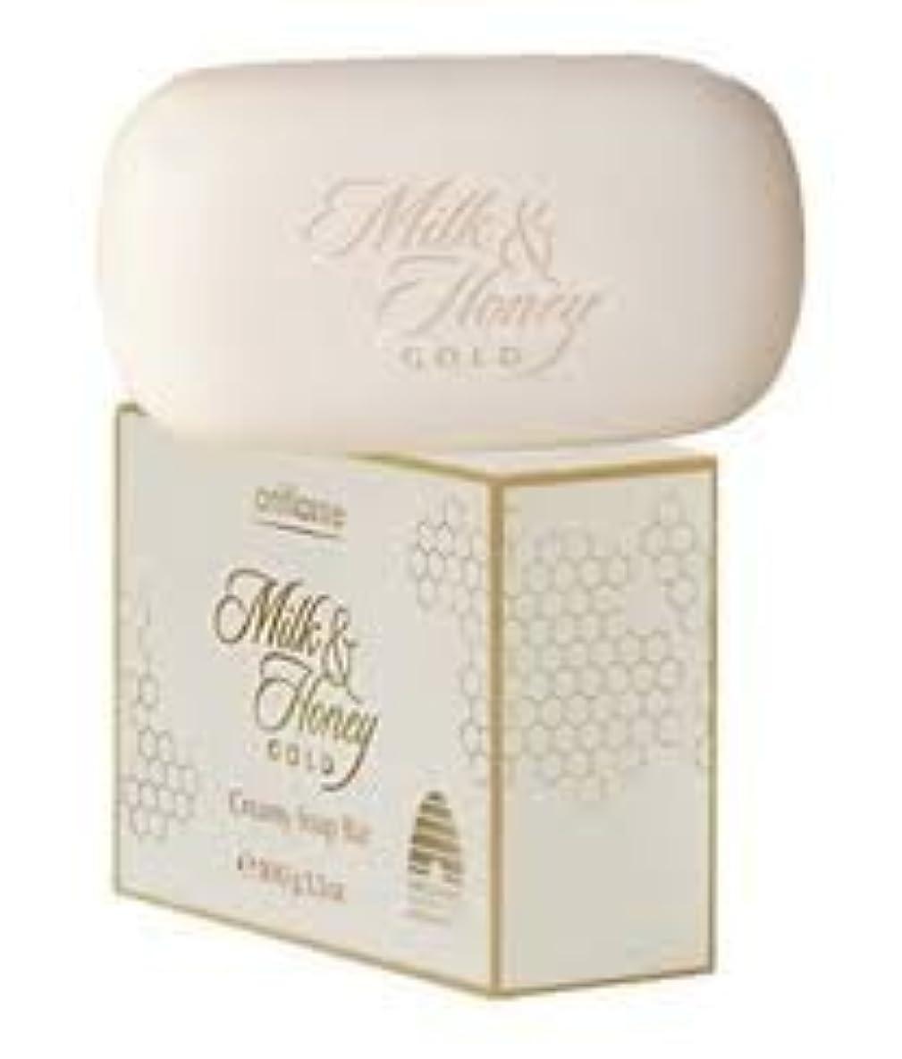 Oriflame Milk & Honeyゴールドクリーミーソープバー100 g
