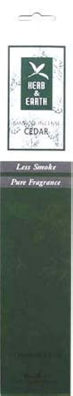 ピアニストステッチ出口Herb & Earth Incense – Cedar