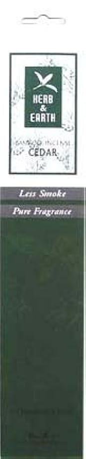 悔い改める競う語Herb & Earth Incense – Cedar