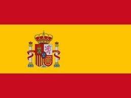 スペイン 国旗 フラッグ 4号 サイズ 150×90cm