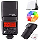 Best GODOXのTTL点滅 - Godox tt350s 2.4 G TTL Speedlite Flash for Sonyミラーレスカメラ – gn36 HSS Review