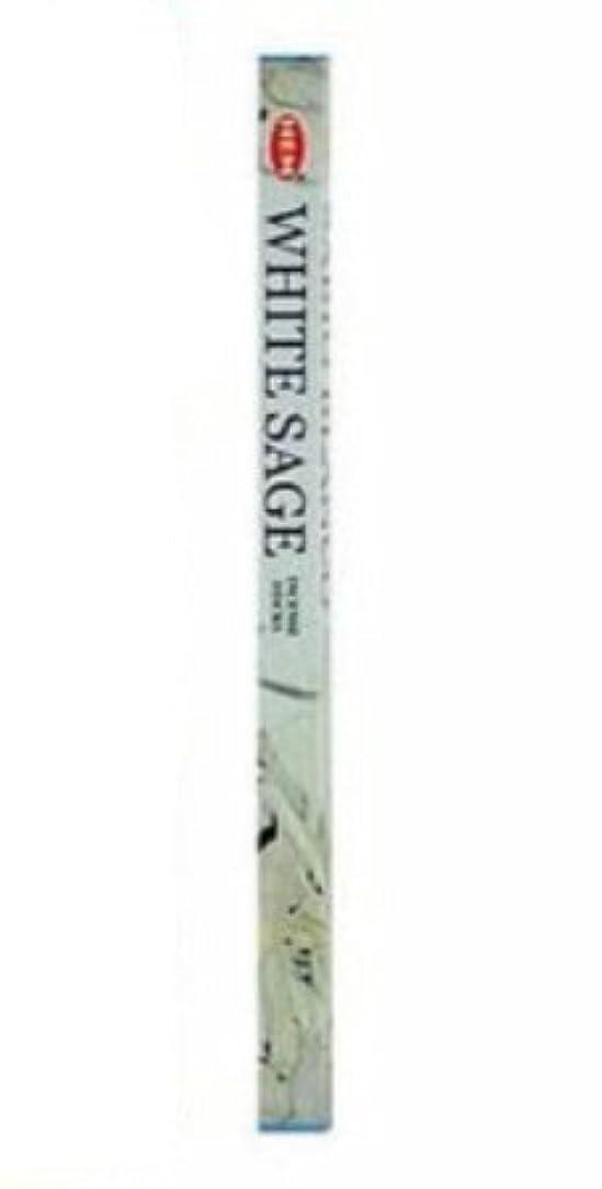 スマイル守銭奴フレッシュHemホワイトセージ香5 x 8スティックパック、40スティック、in222
