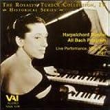 Bach Harpsichord Recital-Live New York/1981