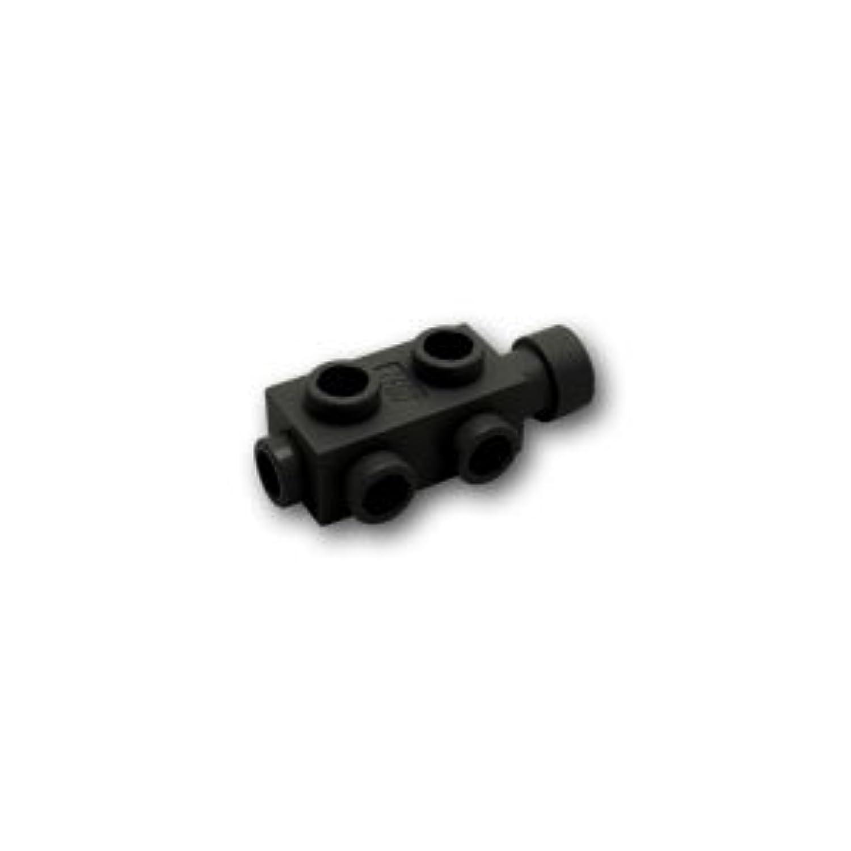レゴブロックパーツ ブロック 1 x 2 x 2/3 - 4面スタッド:[Black / ブラック]【並行輸入品】