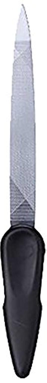 ひねくれた太い影ステンレス製ツーウェイつめやすり SJ-N40