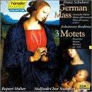 German Mass / 3 Motets