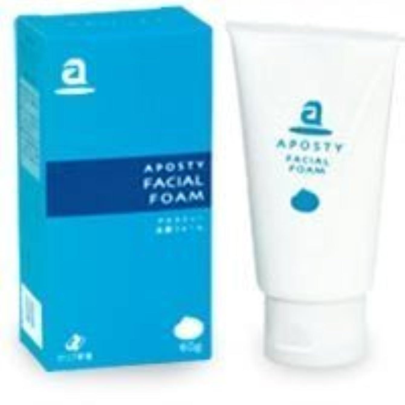 報復する自己交じるゼリア新薬 アポスティー洗顔フォーム120g