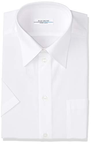 [富士ヨット学生服] TSOW200S 半袖スクールシャツ オフホワイト 消臭機能付き ボーイズ