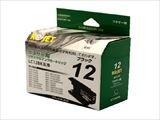 インクカートリッジ ブラザー LC12BK ブラック リサイクル