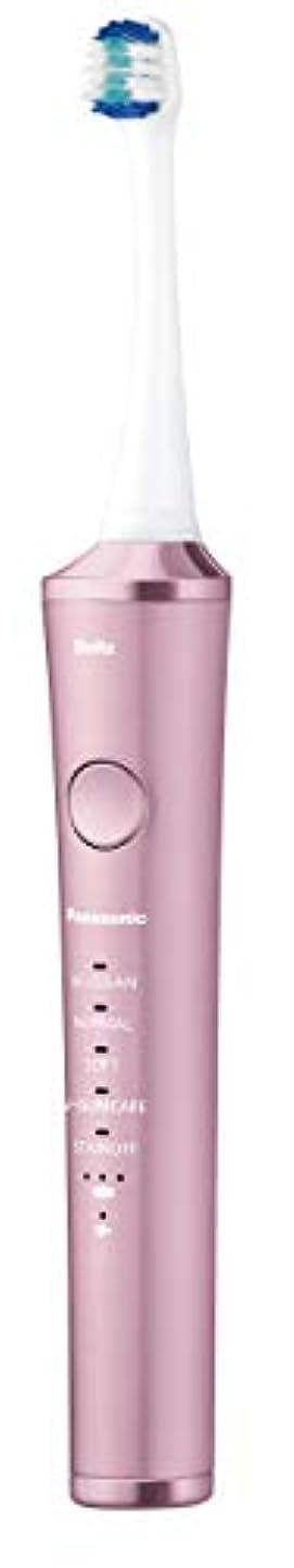 つば松明後方にパナソニック 電動歯ブラシ ドルツ ピンク EW-DP53-P