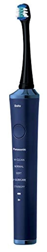 大いに建設倍率パナソニック 電動歯ブラシ ドルツ 青 EW-DP53-A