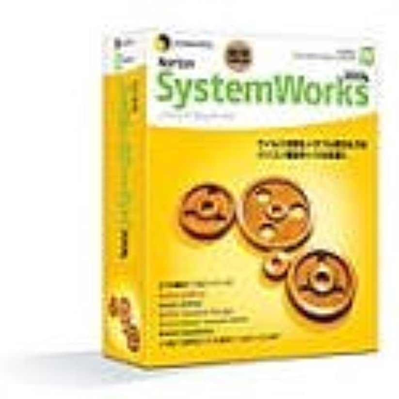 吐き出すプロジェクター状況Norton SystemWorks 2004