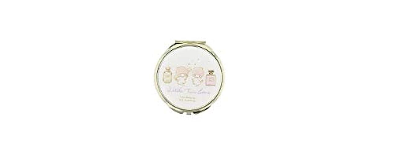 止まる失礼なチューリップ(メイクメリー) Make Merry Sanrioコンパクトミラー 86887 (キキララ)
