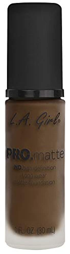 L.A. GIRL Pro Matte Foundation - Chestnut (並行輸入品)