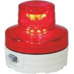 日動工業 電池式LED回転灯ニコUFO 常時点灯タイプ 赤 NU-AR