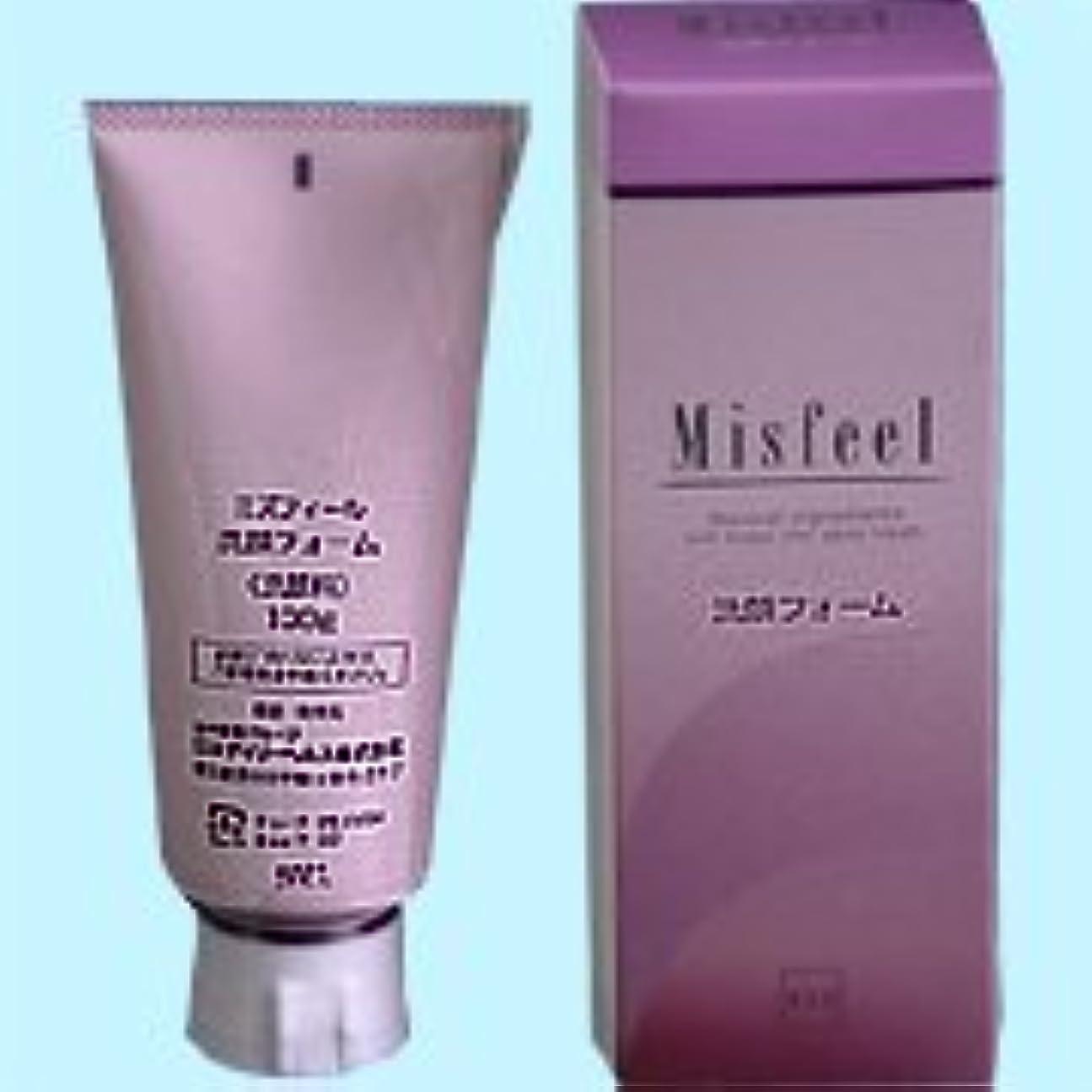 しっとり部分適度なミズフィール 洗顔フォーム 100g   日本デイリーヘルス