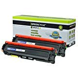 Greencycle 2パックブラックトナーカートリッジ互換for HP 410 A cf410 a Color LaserJet Pro m452nwレーザープリンタ