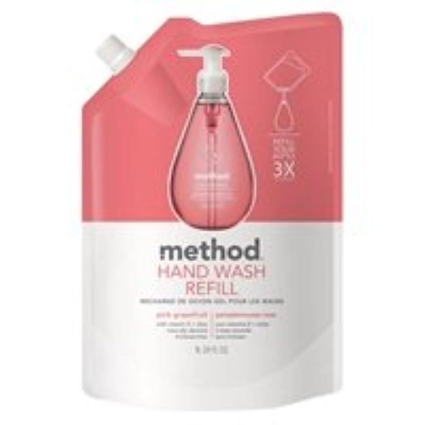 コンドーム類似性店主メソッド ハンドソープ ジェルタイプ ピンクグレープフルーツ リフィル(1L) 2袋セット