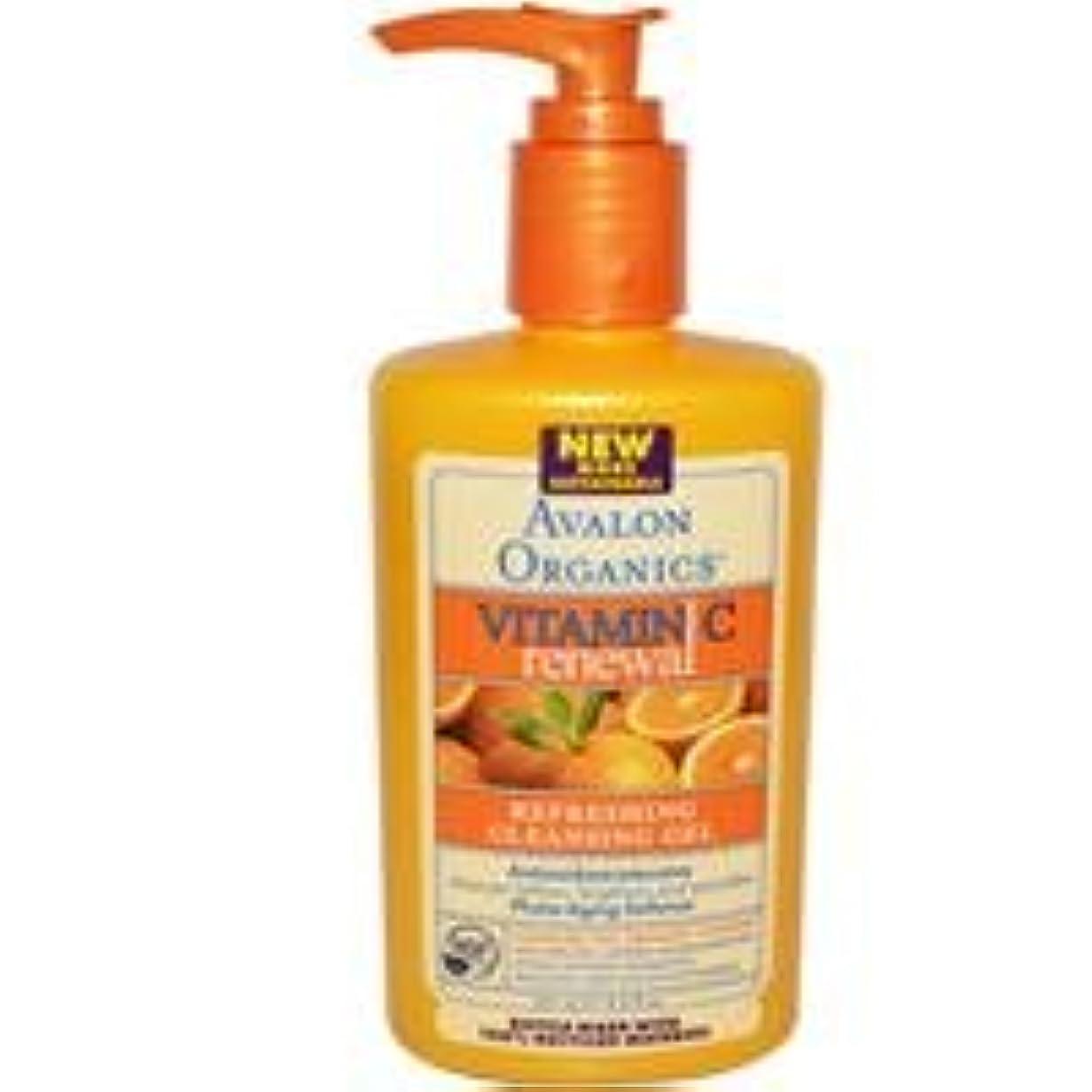 バンクウィンク伝統[海外直送品] アバロンオーガニック(Avalon Organics)    ビタミンC クレンジング ジェル 251ml
