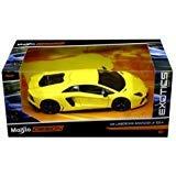 新しい1: 24W / B Exoticsコレクション–Yellow Lamborghini Aventador Lp 700–4DIECASTモデルCar by Maisto