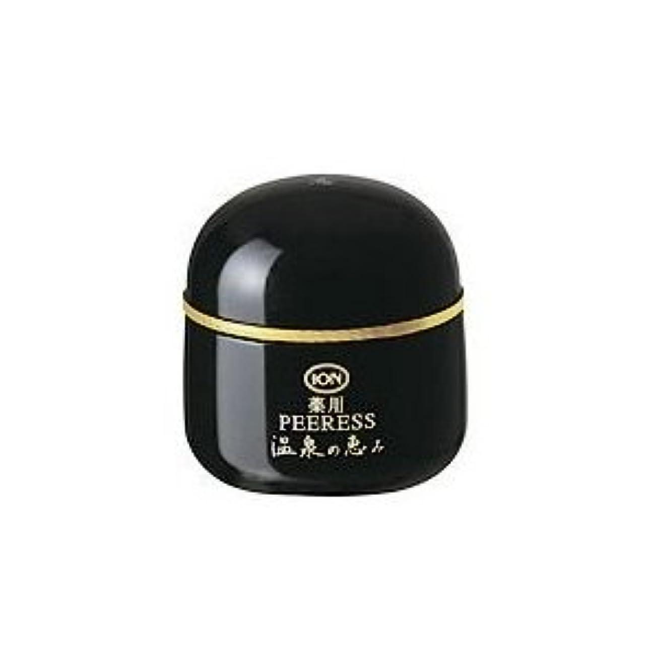 イオン化粧品 温泉の恵み 薬用ピアレススプリーム 40g 弱酸性 普通肌~荒性肌用