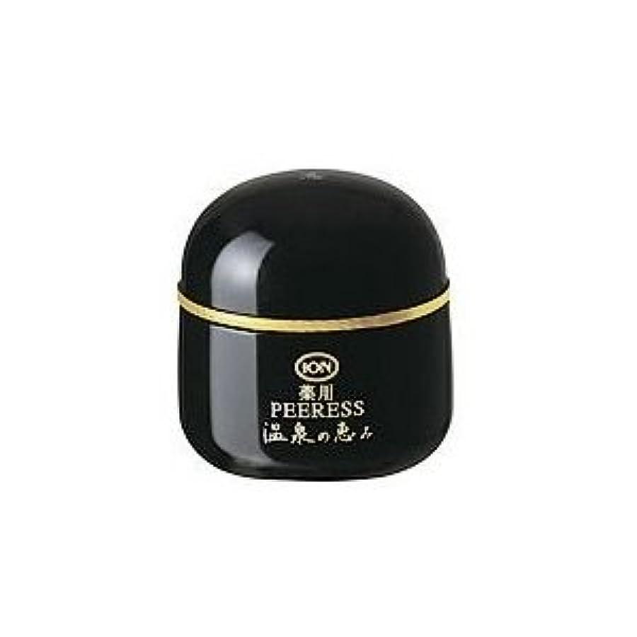 豪華な天気矩形イオン化粧品 温泉の恵み 薬用ピアレススプリーム 40g 弱酸性 普通肌~荒性肌用