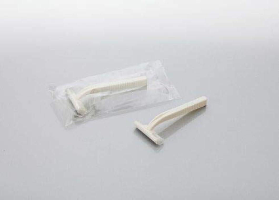 白雪姫肝仕事に行くカミソリ アメニティシーガル2 固定式2枚刃 1800本 透明OP袋入 daito