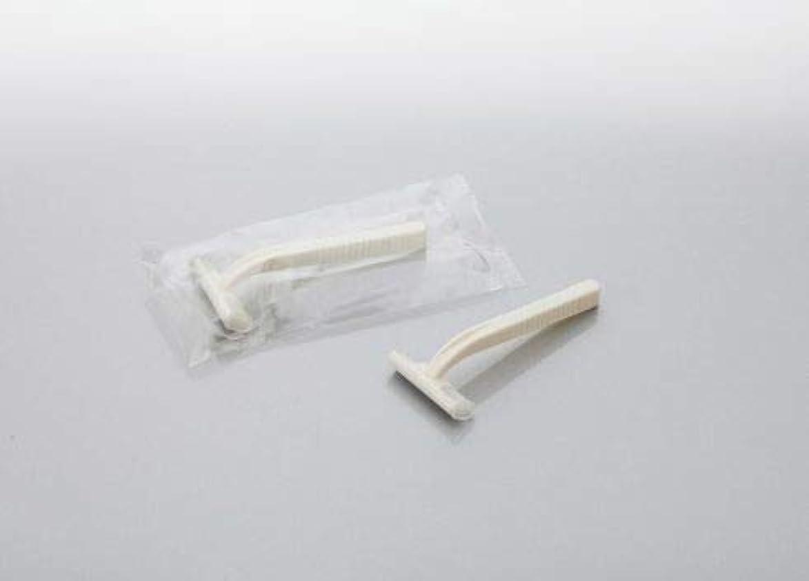 侵入する分解するチャーターカミソリ アメニティシーガル2 固定式2枚刃 1800本 透明OP袋入 daito